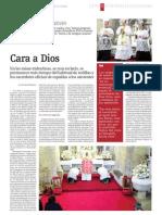 CARA a DIOS. José María Permuy y Otros. La Opinión, Domingo 18-10-2009.