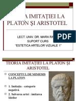 Teoria Imitaţiei La Platon Şi Aristotel