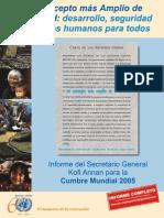 Documento 8. Informe Secretario General 2005