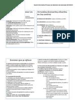 15-16 Sesión Informativa Proceso de Admisión Del Alumnado 2015