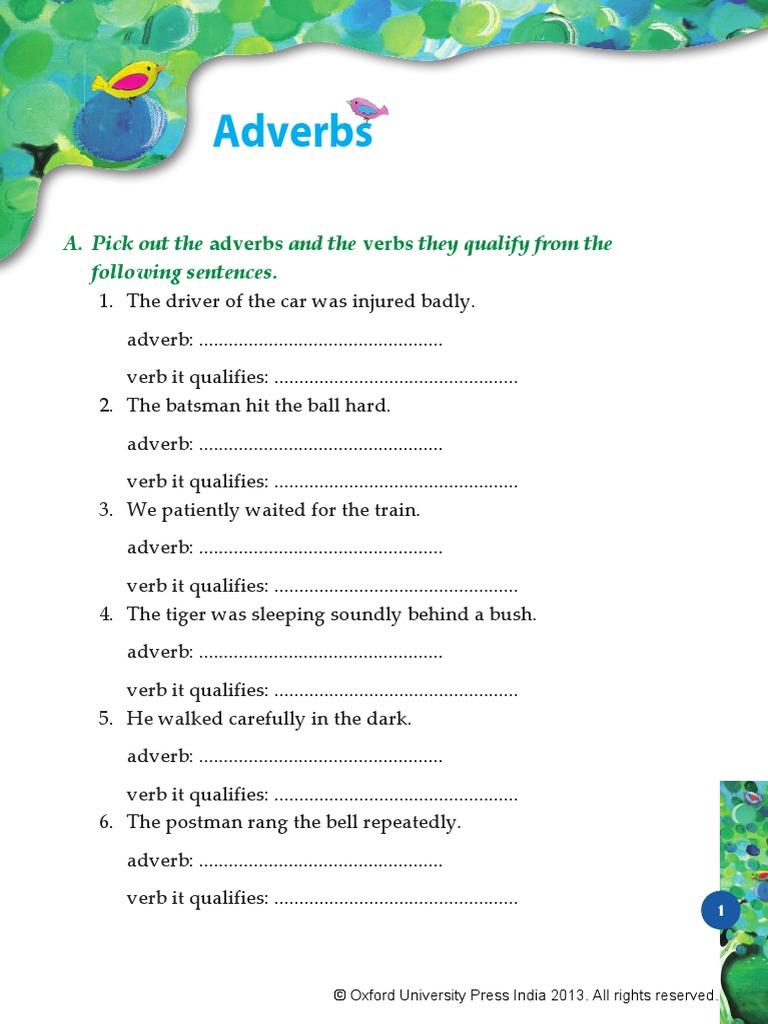 Adverbs: Adverbs