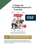 3 Türken Ein Baby.2015.DVDRip.deutsch.film.Torrent