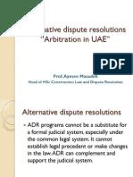Arbitration in UAE