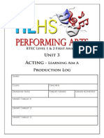 unit 3a acting complete