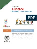 Projeto Andebol Recreativo, Cultural e Social 2013-2014