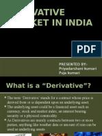 Derivative Market in India