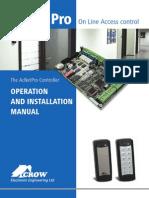 AcNetPro_ Installation Manual.pdf