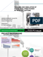 Supercritical Power Plant Model_ Presentation Slides
