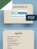 Nestle USA - ERP Implementation