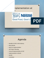 Nestle USA - ERP Implementation