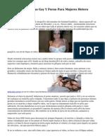 Porno Hetero, Porno Gay Y Porno Para Mujeres Hetero