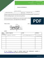 Workshop Di Avviamento Per AECOSIM BD - Modulo Di Iscrizione