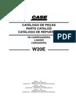 MANUAL DE PARTES CARGADOR FRONTAL W20E