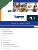 MT Educare Investor Presentation - Quarterly Update_Q2 FY 14-15