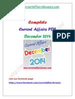 Dec 14- Complete Current Affairs