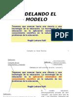 MODELANDO EL MODELO