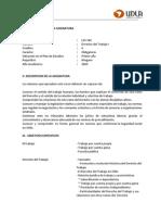 Derecho Del Trabajo I - LEX 302