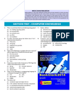 Computer Knowledge Section Test