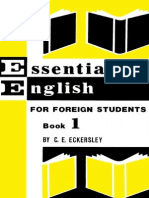 Eckersley Essential English for Foreign Students Book 1