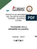 Proyecto de Implementación Del Taller de Hostelería y Turismo 2013 -Final