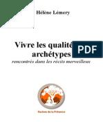 """Extrait de """"Vivre les qualités des archétypes"""""""