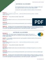 Matutina JA del 18 al 24 de Enero 2015