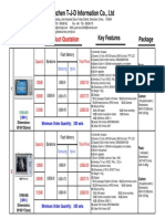 T-J-D MP3 & MP4 Player Quotation )2006-04
