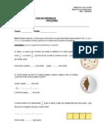 Ficha de Fracciones