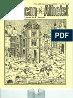 American Atheist Magazine Aug 1981