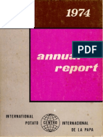 CIP Annual Report 1974