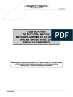 AUTOEVALUACIÓN NTC 17025