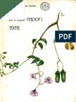 CIP Annual Report 1978
