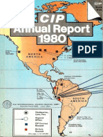 CIP Annual Report 1980
