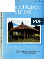 CIP Annual Report 1981