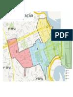 Mapa Centro RJ