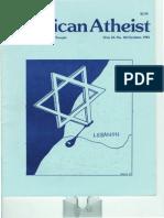 American Atheist Magazine Oct 1981