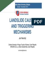 5 Landslide Causes and Triggering Mechanisms