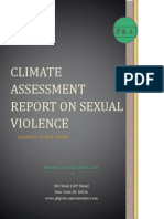 UNM Climate Assessment Report on Sexual Violence