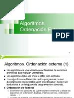 algoritmos ordenacion externa