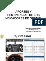 1- 1ERA. CONFERENCIA- APORTES Y PERTINENCIAS DE LOS INDICADORES DE GESTION-.ppt