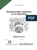 Web Desaparecidos Espanoles en Argentina