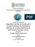 Diagnostico de Plan de Estudio