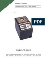 Calibrador de Temperatura Tipo Bloco Seco T-350P-T650P