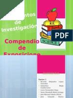 Compendio de Fundamento de Investigacion