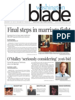 Washingtonblade.com, Volume 46, Issue 4, January 23, 2015