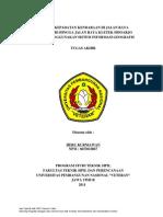 Tugas Akhir Universitas Pembangunan Nasional