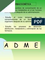 FARMACOCINÉTICA- (ADME)