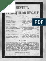 1 August 1938 Iorga Despre Regina Maria