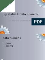 Uji Statistik Data Numerik