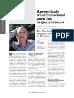 Aprendizaje Transformacional en Las Organizaciones